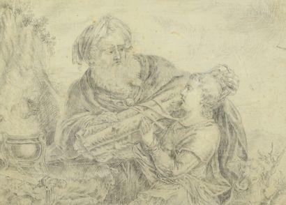 ATTRIBUÉ À CAREL DE MOOR II LEYDE, 1655 - 1738, WARMOND