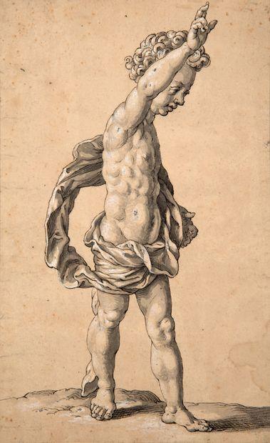 ATTRIBUÉ À GEORG PETEL WEILHEIM, 1601/1602 - 1635, AUGSBOURG Christkind