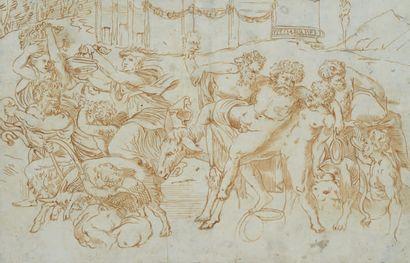 BALDASSARE TOMMASSO PERUZZI SIENNE, 1481 - 1536/1537, ROME