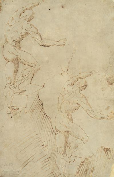 ATTRIBUÉ À GIULIO CAMPI Crémone, 1508 - 1572