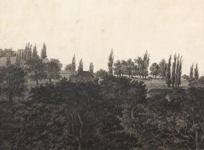 École ALLEMANDE vers 1800
