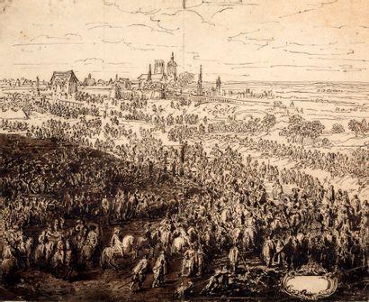 ATTRIBUÉ À ADAM FRANS VAN DER MEULEN BRUXELLES, 1632 - 1690, PARIS