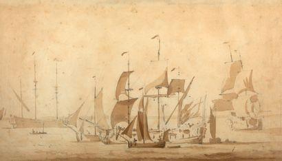 WILLEM VAN DE VELDE LE JEUNE LEYDE, 1633 - 1707, GREENWICH