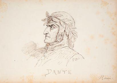 ATTRIBUÉ À EUGÈNE DEVÉRIA PARIS, 1805 - 1865, PAU