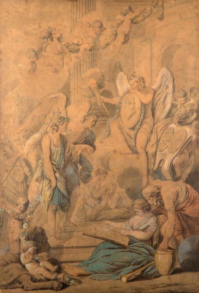 CHARLES-FRANÇOIS HUTIN PARIS, 1715 - 1776, DRESDE