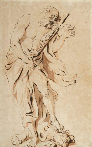 ÉCOLE HOLLANDAISE, VERS 1600<br/>CERCLE D'ABRAHAM BLOEMART