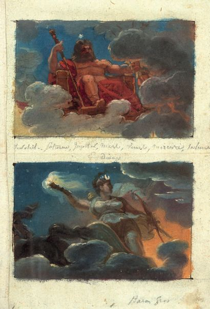 ATTRIBUÉ À MERRY-JOSEPH BLONDEL PARIS, 1781 - 1853