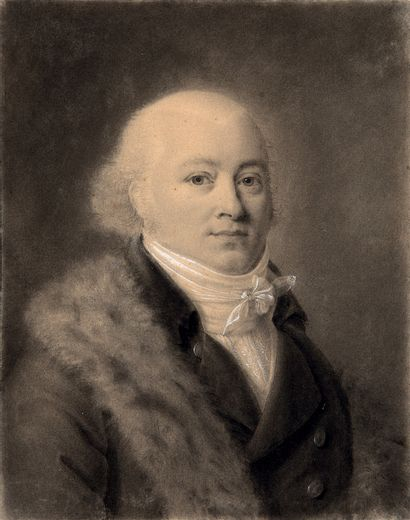 ATTRIBUÉ À JEAN-BAPTISTE ISABEY NANCY, 1767 - 1855, PARIS