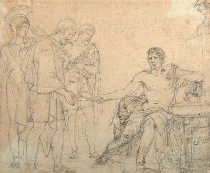 ÉCOLE FRANÇAISE NÉOCLASSIQUE,<br/>VERS 1820