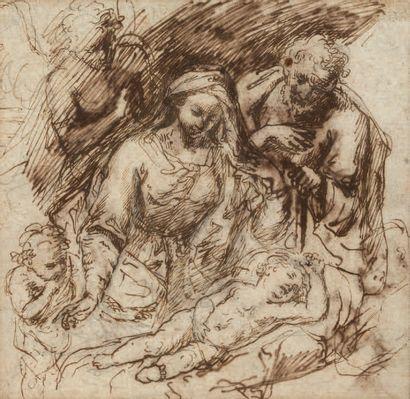 ATTRIBUÉ À FRANCESCO CURIA NAPLES, 1538 - 1610
