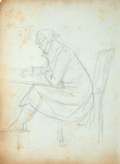 ECOLE FRANÇAISE, VERS 1800