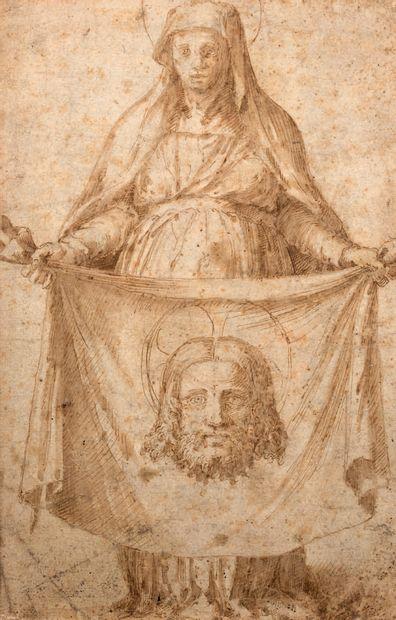 ATTRIBUÉ À AGOSTINO CARRACCI BOLOGNE, 1557 - 1602, PARME