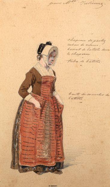 SULPICE-GUILLAUME CHEVALIER,<br/>DIT PAUL GAVARNI PARIS, 1804 - 1866