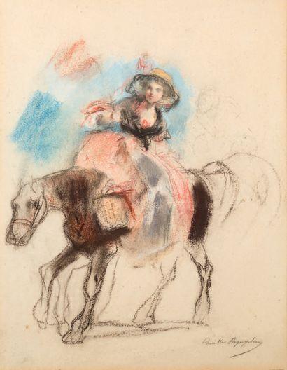 CAMILLE ROQUEPLAN MALLEMONT, 1803 - 1855, PARIS