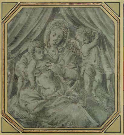 ENTOURAGE DE FRANCESCO DE ROSSI,<br/>DIT FRANCESCO SALVIATI FLORENCE, 1510/1563, ROME