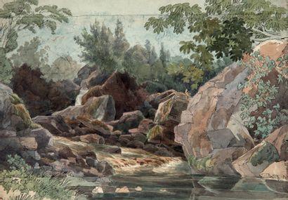 FRIEDRICH SALATHÉ BINNINGEN, 1793 - 1858/1860,<br/>PARIS