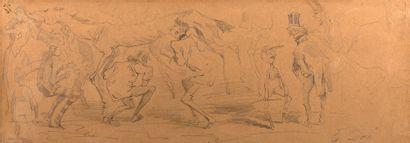 GUSTAVE DORÉ STRASBOURG, 1832 - 1883, PARIS