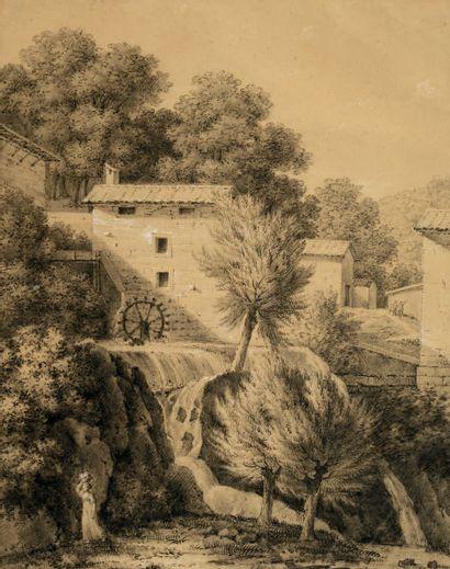 École Italienne de la seconde moitié du XVIIIe siècle