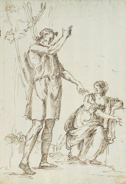 ATTRIBUÉ À FILIPPO FALCIATORE NAPLES, 1700/1768