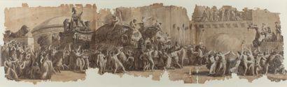 LUIGI ADEMOLLO MILAN, 1764 - 1849, FLORENCE