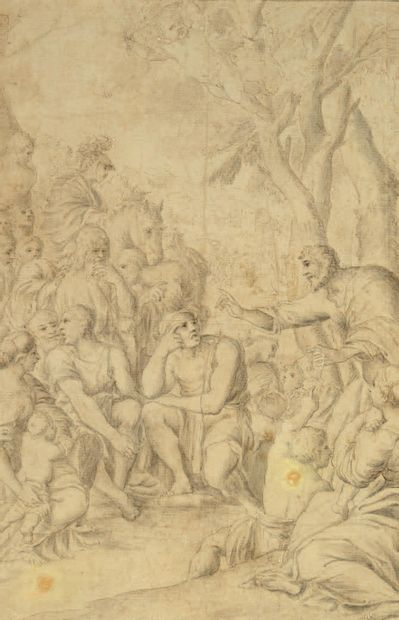 ATTRIBUÉ À PIETER DE JODE LE VIEUX ANVERS, 1570/1634
