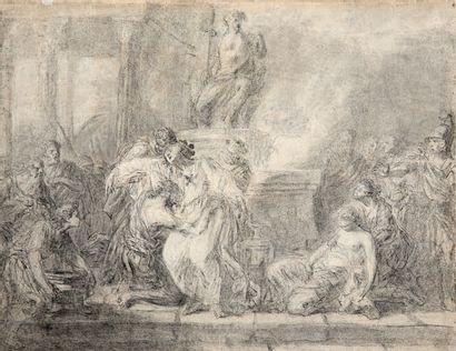 ÉCOLE FRANÇAISE DU XVIIIE SIÈCLE Entourage de Jean-Honoré Fragonard