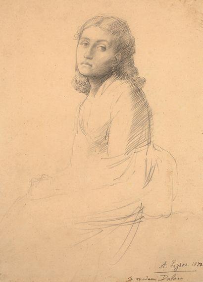ALPHONSE LEGROS DIJON, 1837 - 1911, WARFORD