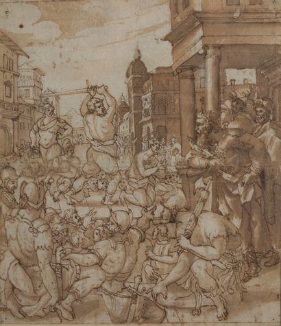ÉCOLE HOLLANDAISE VERS 1560<br/>ENTOURAGE DE DIRK CRABETH