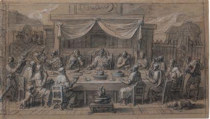ATTRIBUÉ À FRANÇOIS VERDIER PARIS, C. 1651 - 1730