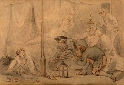 THOMAS ROWLANDSON Londres, 1756 - 1827