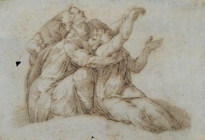 ÉCOLE FLORENTINE, VERS 1520 SUIVEUR DE RAPHAËL