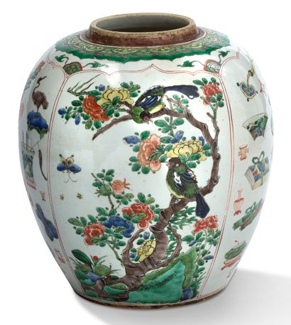 CHINE<br/>PÉRIODE KANGXI (1661-1722)