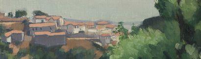 Albert Marquet (1875-1947) Mustapha Supérieur, 1924 Huile sur toile marouflée sur...