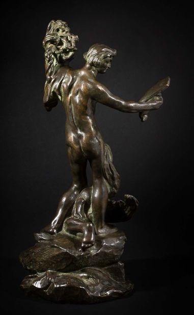 Camille CLAUDEL (1864-1943) Persée et la Gorgone, « petit modèle » ou Petit Persée,...
