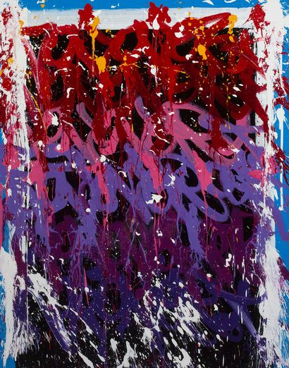 JONONE (né en 1963) *Discovery, 2017 Acrylic on canvas, signed, dated, titled and...