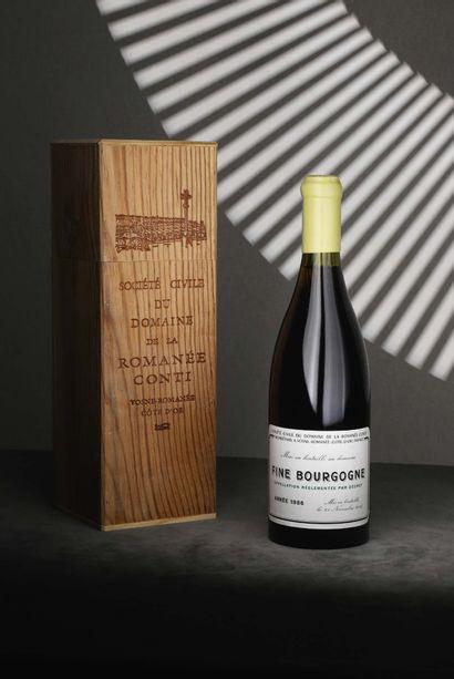 1 bouteille Fine Bourgogne 1986 Domaine...