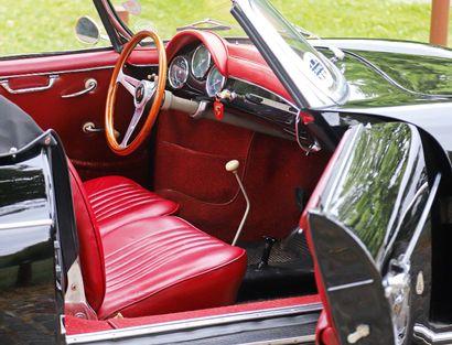 Porsche 356 AT 2 1600 S Convertible D 1958 法国注册 底盘编号:85852 发动机编号: 83093 比速腾更稀有的车型...