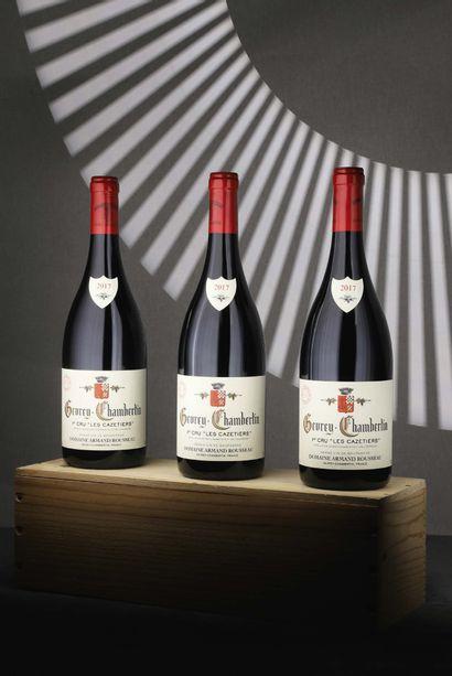 3 bouteilles Gevrey-Chambertin 1er Cru «...