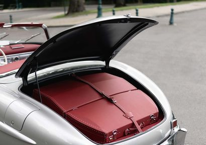 Mercedes-Benz 300 SL Roadster 1959 Belgian title Chassis number: 8500310 Engine no.:...