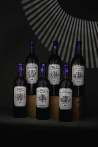 CBO 6 bouteilles Château La Conseillante...