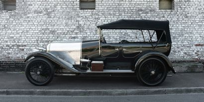 Bentley 3 Litre 1922 English title FFVE certificate Chassis n°: 35 Engine n° 33 One...