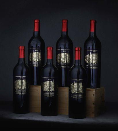 CBO 6 bouteilles Château Palmer 2005 3e...