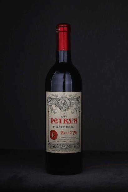 1 bouteille Petrus 1989 Pomerol