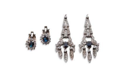 Eléments de paire de pendants d'oreilles...
