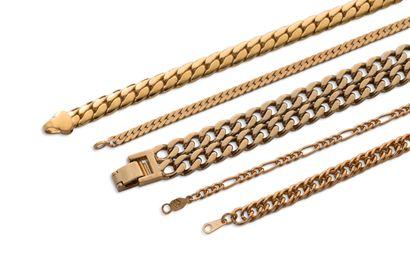 Lot de bijoux divers - métal doré Cliquez ici pour enchérir