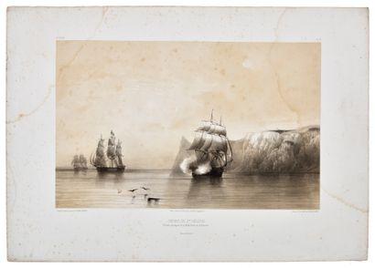 FRAGMENT DU «CERCUEIL DE NAPOLÉON» Fragment en bois du cercueil de l'Empereur Napoléon...