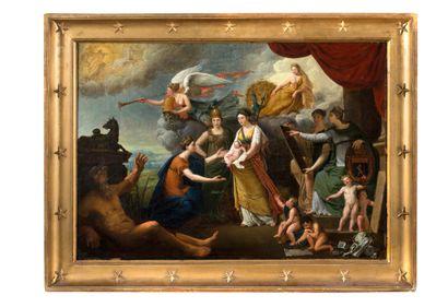 MATHIEU-IGNACE VAN BRÉE ANVERS, 1773/1839 Présentation du roi de Rome à la Ville...