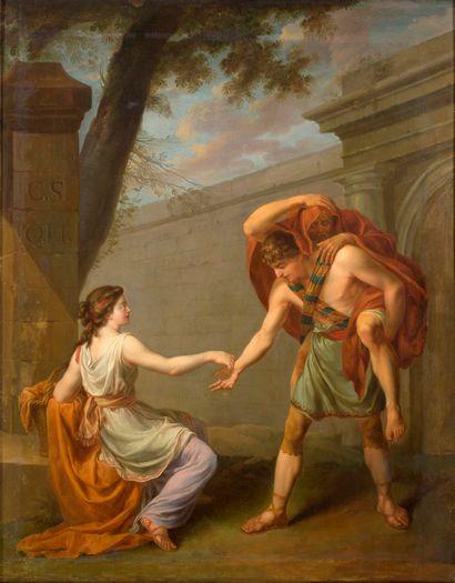 JOSEPH-MARIE VIEN MONTPELLIER, 1716/1809, PARIS