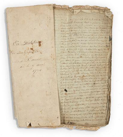 JEAN LOUIS VANIER Mémoires d'un soldat de la République 1792-1809 Un récit autobiographique...