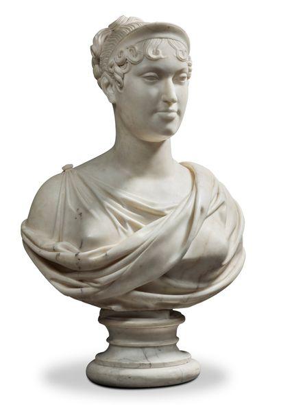 LORENZO BARTOLINI (VERNIO 1777/FLORENCE 1850) D'APRÈS FRANÇOIS -JOSEPH BOSIO (MONACO 1769-1845 PARIS)